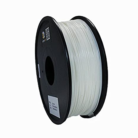 0.0 5mm 1 Kg Spool White Supply3D // PLA Plus White 3D Printer Filament 1.75mm Dimensional Accuracy 2.2 LBS