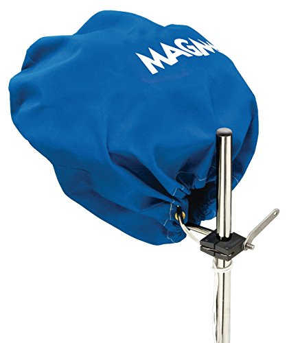 Magma Products, A10-492PB Cover (Pacific Blue), Sunbrella, Marine Kettle Grill Party Size