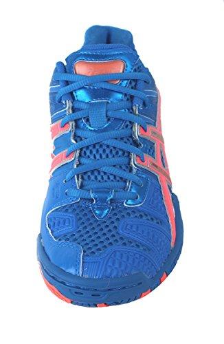 Asics - Womens Handball Gel-Blast 4 Shoes In Blu/Orng/Slvr Blu/Orng/Slvr how much outlet locations cheap online visa payment cheap price Txmku6