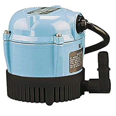 Little Giant 500500 1-AA-18 Submersible Cover Pump with 18-Feet Cord, 170 GPH