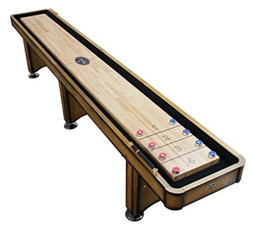 Playcraft Georgetown Shuffleboard Table, Honey, 14-Feet (22 Ft Shuffleboard Table)
