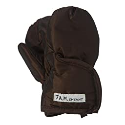 7AM Enfant Classic Mittens 212 , Metallic Brown, XX Large