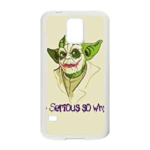 Samsung Galaxy S5 Phone Cases White Star Wars Yoda BNM404071