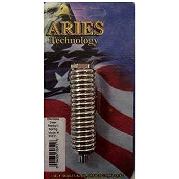 Aries 30311 Medium Duty Stainless Steel Spring Cb Radio Antenna Mount