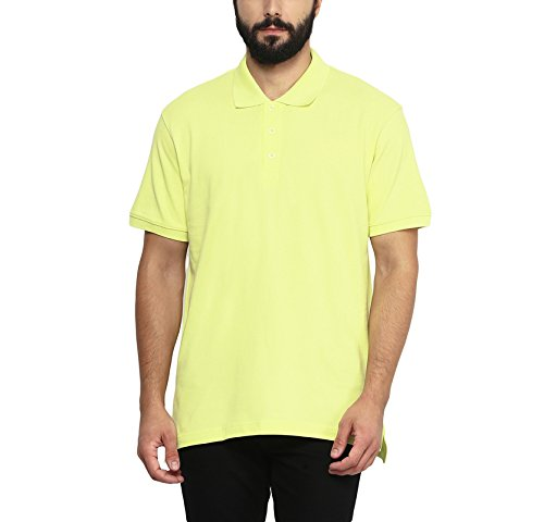 Aventura Outfitters Men's Polo Collar T Shirt (Light Green)