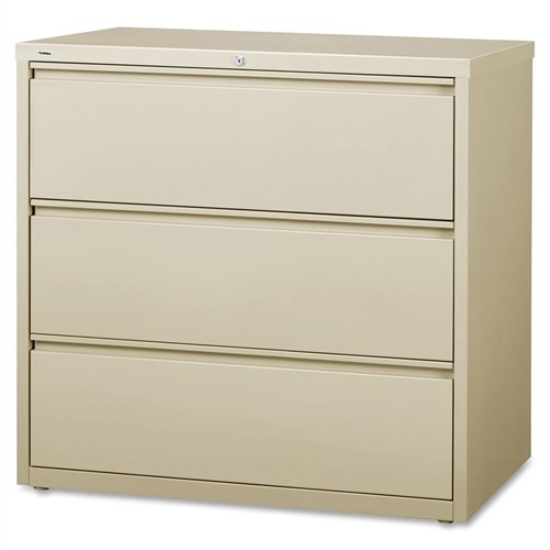 Lorell LLR88030 3-Drawer Lateral Files, 42'' by Lorell