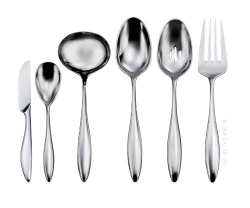 (Oneida Asteria 6-Piece Serving Set)