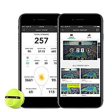 Zepp–Soporte de Tennis 2Analizador de Swing & Match