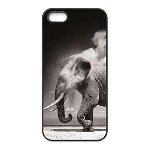 Customized case Of Elephant Hard Case for iPhone 5,5S