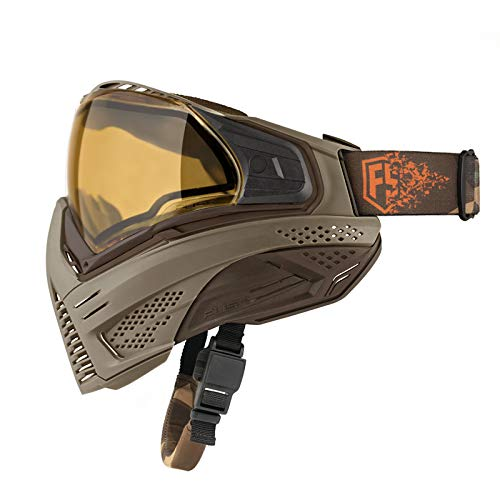 First Strike Push Unite LE Paintball Goggles Mask Tan/Brown by First Strike