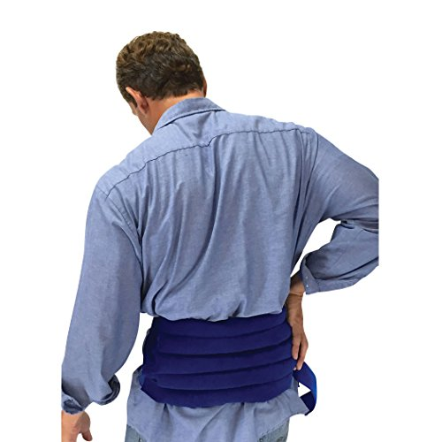Hot & Cold Natural Therapy Spine/Back Wrap, Sensacare