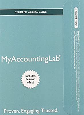 NEW MyAccountingLab with Pearson eText -- Standalone Access Card -- for Horngren's Accounting