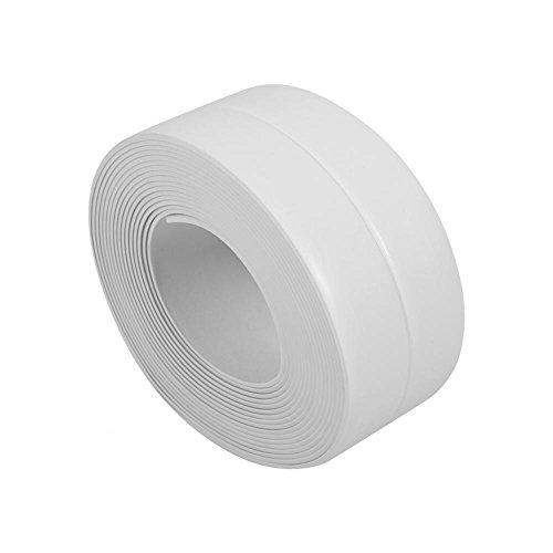 Greensen White Waterproof Caulk Strip Self-Adhesive Sealing Tape for Sink, Basin, Bathtub, Door and Wall by Greensen