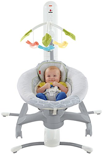 Fisher Price 4-in-1 Smart Connect Cradle 'n Swing