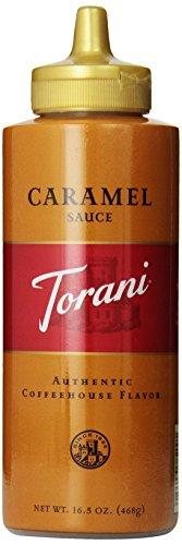 Torani Caramel Sauce, 16.5 Ounce (Pack of 6)