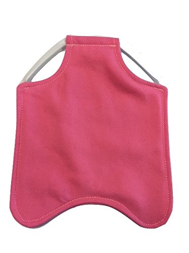 Hen Saver Single Strap Chicken Apron/Saddle, Large, Awareness Pink ()