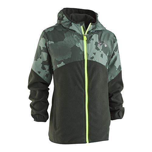 Under Armour Boys' Big Print North Rim Micro Fleece Jacket,