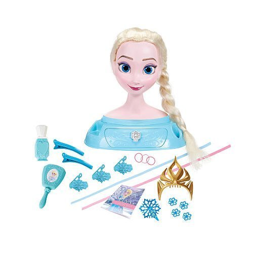 Disney Frozen Elsa Majestic Styling Head (Frozen Elsa Head)