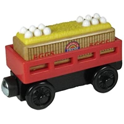 Thomas & Friends McColl's Egg Cargo Car Wooden Railway Tank Train Engine Loose: Toys & Games