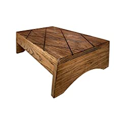Wood Step Stool Large by CW Furniture Cu...