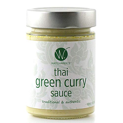 Watcharee's Thai Green Curry Sauce, 11.5 Oz (Thai Green Curry Sauce)
