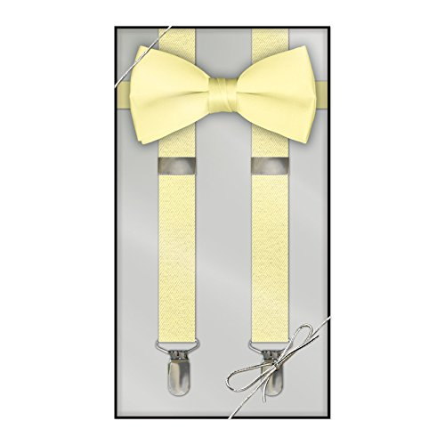 Suspender & Bow Tie Set (Adult, -