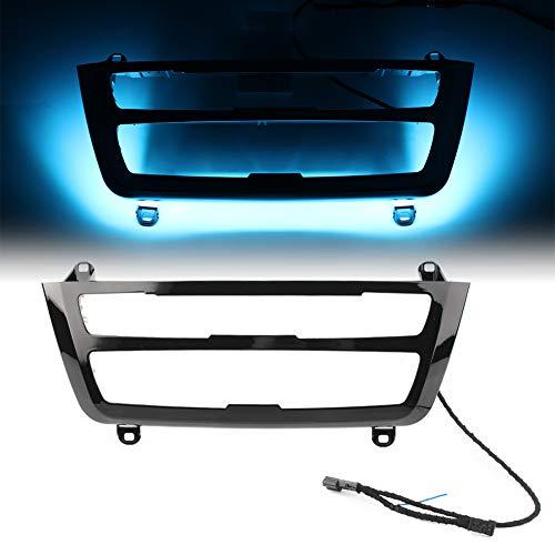 GZYF Double Color AC/Radio Trim, Dual LED Luminescent Bezel Decoration Fits BMW F30 F3X 3 4 M3 M4 Retrofit