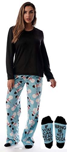 - Just Love Womens Microfleece Pajama Pants Set with Socks 6734-10331-L