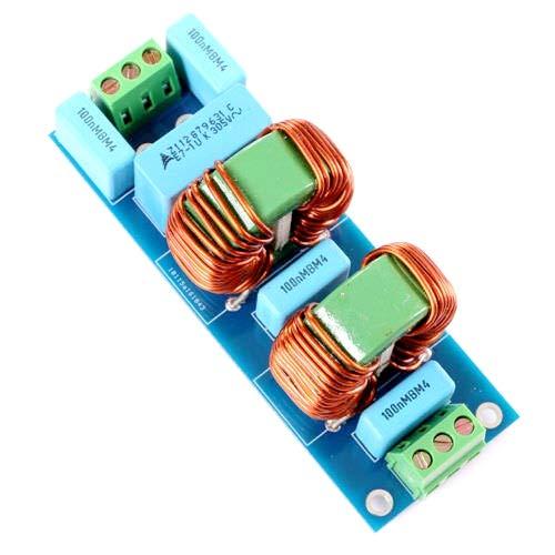 スピーカーアンプ用3900w EMI 18a高周波パワーフィルターボード