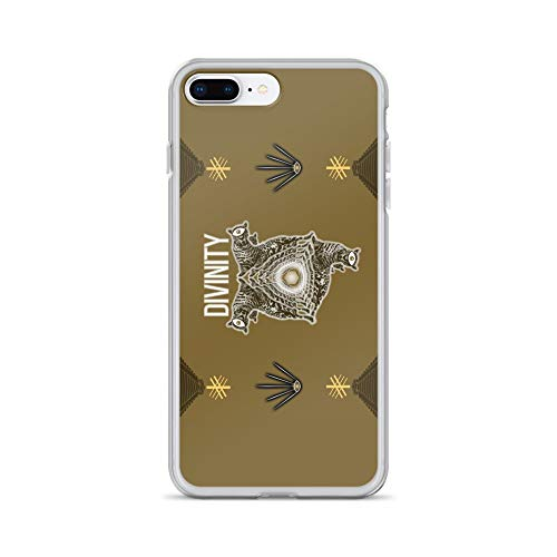 (iPhone 7 Plus/8 Plus Case Anti-Scratch Creature Animal Transparent Cases Cover Divinity Animals Fauna Crystal Clear)