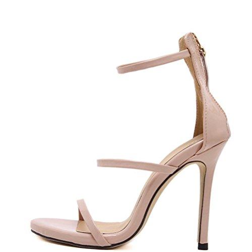 Ultimate Da Alta A Qianxiaoqi Cristallo Liangxie Sposa Mano Shoes Fatti Heels Alti Scarpe Peep Sandali Xiao In Fashion High Nudo Tacchi Ladies zrRrZ7tB