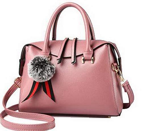 Style Rosso a VogueZone009 Festa tracolla Dacron Shopping Donna CCALBO181734 Rosa Borse Tote Ixq7qA1wB