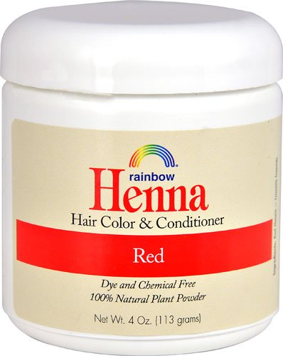Rainbow Research Henna Red Hair Color and Conditioner (Pack of 2) With Lawsonia Inhermis, 4 oz. each.