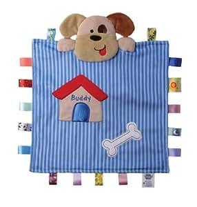 Amazon.com : Taggies Buddy the Dog Peek-a-Boo Blanket