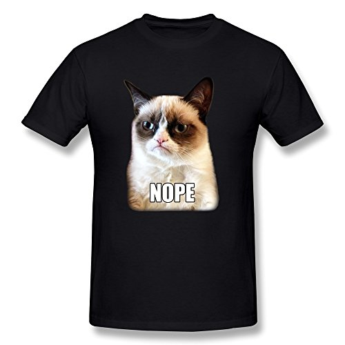 Grumpy Cat Nope Expression T-Shirt