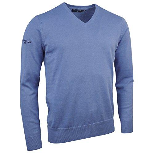 sic6884vn Algodón De Azul Jersey V Cuello Glenmuir Claro En Con q60xwZpE