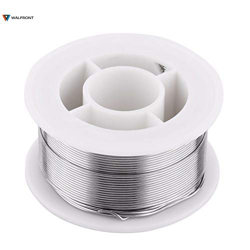 Ants-Store - 0.8mm Rosin Core Flux Solder Wire Reel Soldering Welding Tin Roll Solder Wire Reel Welding Iron Reel Welding Tools Part ()