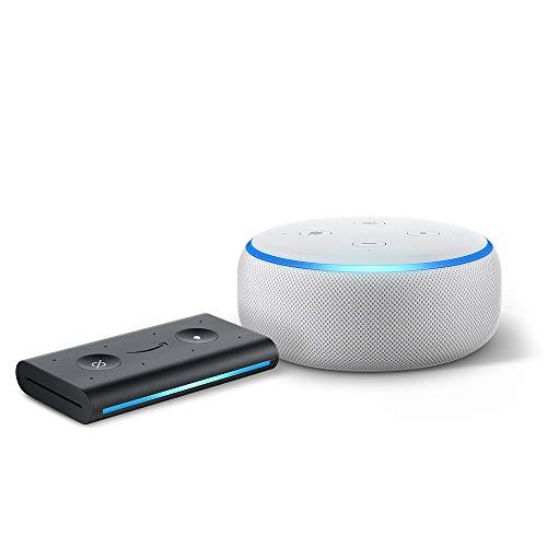 Echo Dot (3rd Gen) Sandstone with Echo Auto