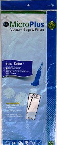- Sebo MicroPlus Filtration Vacuum Bags