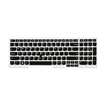 Translucent Keyboard Protector Skin Cover For IBM ThinkPad Edge E530 E530C E535 E545 Black US Layout 15.6 inch With Number Keys