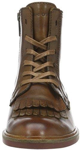 Marc O'Polo Bootie, Zapatillas de Estar por Casa para Mujer Marrón - Braun (Whiskey 726)