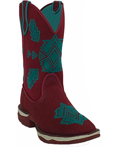 (Laredo Women's Performair Washable Western Boot Square Toe Burgundy 6.5)