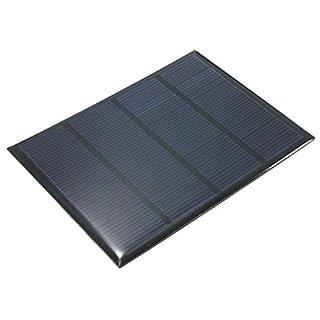 12V 100mA 1.5W policristalino Mini Epoxi panel solar fotovoltaico Panel