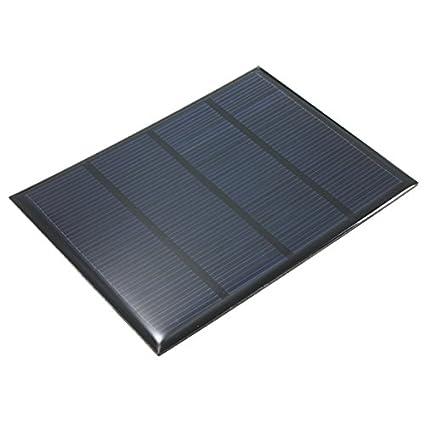 MYAMIA El Panel Solar De Epoxy Policristalino De 12V 100Ma ...