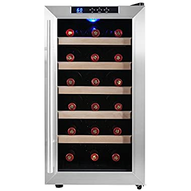 Firebird New Thermoelectric Quiet Operation Wine Cooler Cellar Chiller Refrigerator (18 bottles)