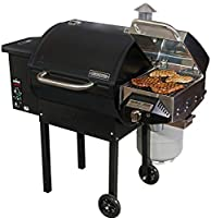 Camp Chef SmokePro DLX 24 Pellet Grill (PG24) with Included Sear Box (PGSEAR) made by  epic Camp Chef