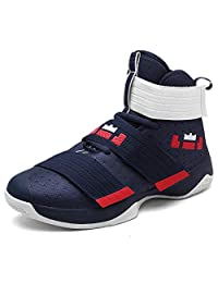 MAIERNISI JESSI Men's Women's Fashion Basketball Boots Sneakers Running Shoes