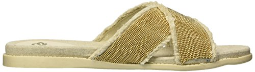 US M Natural Fergalicious Zena Women's Sandal 7 Slide cY0zqAw0