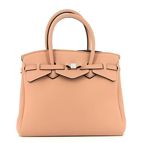 save my bag Miss 3/4, Borsa a Mano Donna, 39.5x34x19 cm (W x H x L) Angora