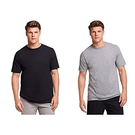30e79118 Russell Athletic Men's Essential Cotton T-Shirt at Amazon Men's Clothing  store: Baseball And Softball Jerseys